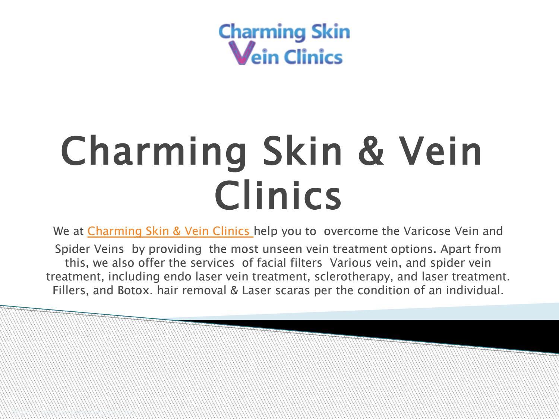 varicose vein Laser treatment Chicago Charming Skin & Vein