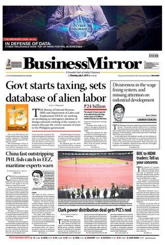BusinessMirror July 04, 2019 by BusinessMirror - issuu