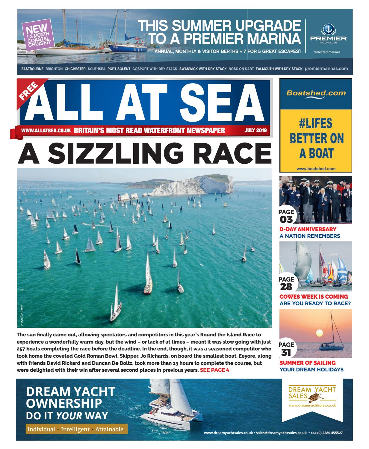 All At Sea July 2019 by All At Sea - issuu