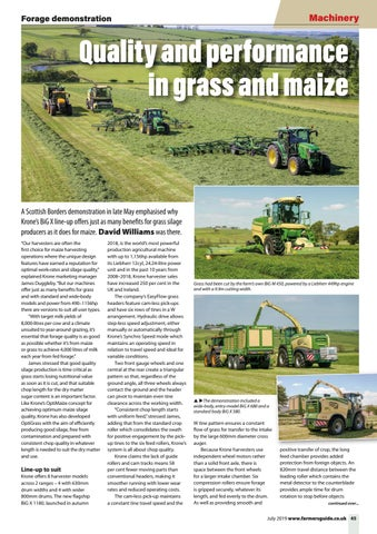 Page 45 of Krone Forage Demo Day