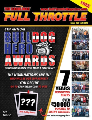 July 2019 - Issue #252 by The Carolinas' Full Throttle Magazine - issuu