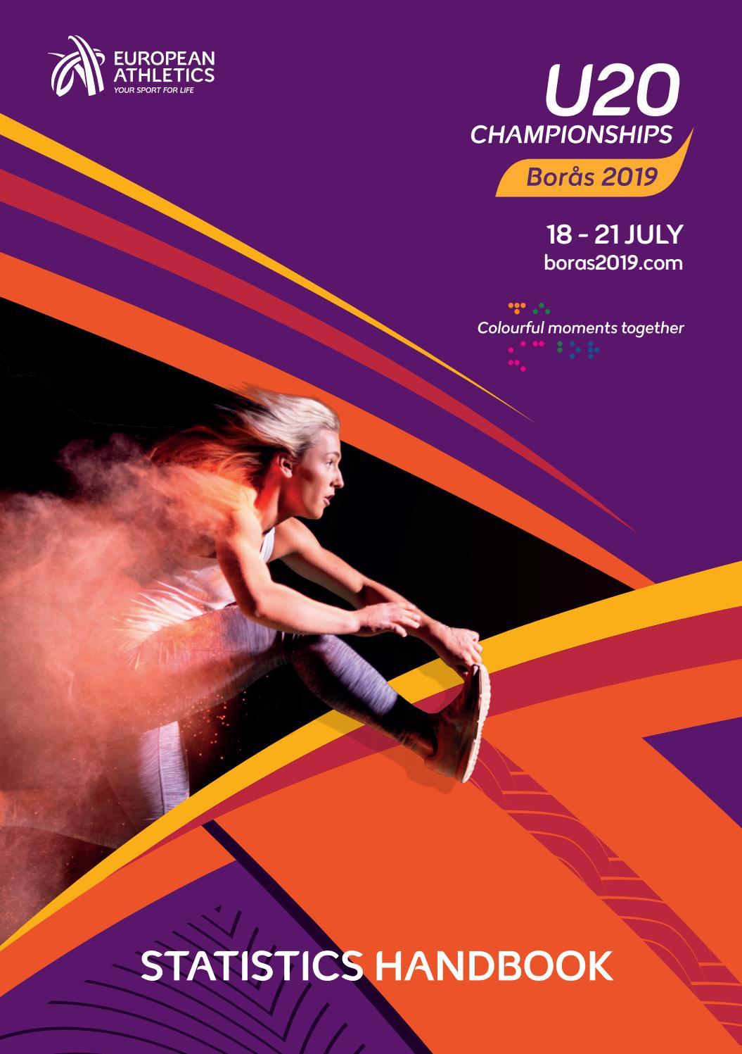 Anastasia Sergeyeva statistics handbook - european athletics u20 championships