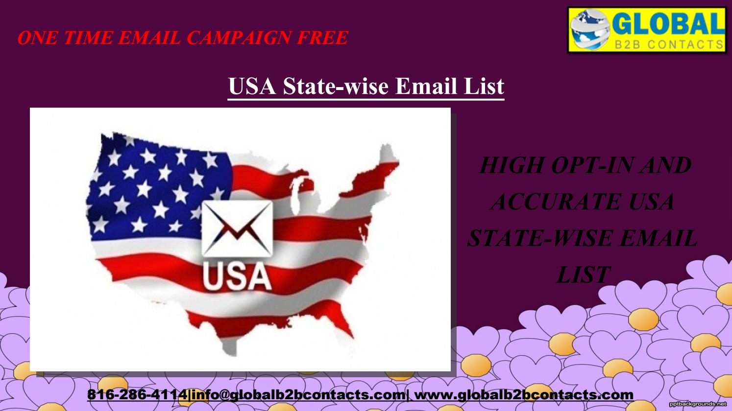 USA State-wise Email List by dylangloria99 - issuu