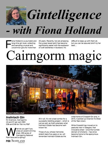 Page 108 of Inshriach Gin - Cairngorm magic!