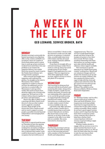 Page 8 of A Week In The Life of our Front Line Worker Geo
