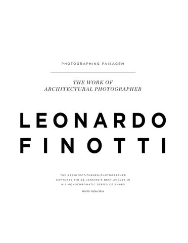 Page 50 of The Work of Architectural Photographer Leonardo Finotti