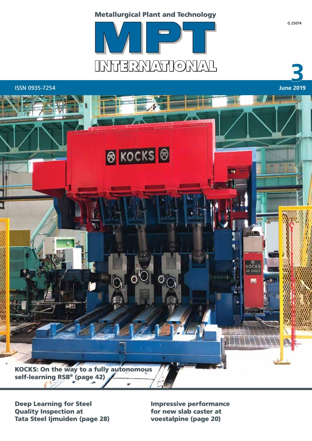 MPT International 3/2019 (June) by MPT Metallurgical Plant