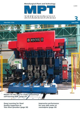 MPT International 3/2019 (June) by MPT Metallurgical Plant and