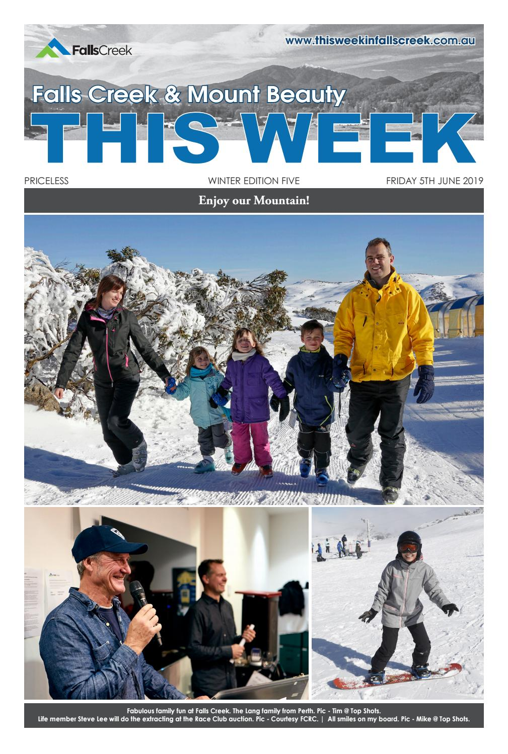 This Week in Falls Creek & Mount Beauty by thisweek issuu