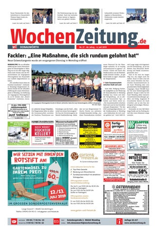 Wochenzeitung Donauworth Kw 27 19 By Wochenzeitung