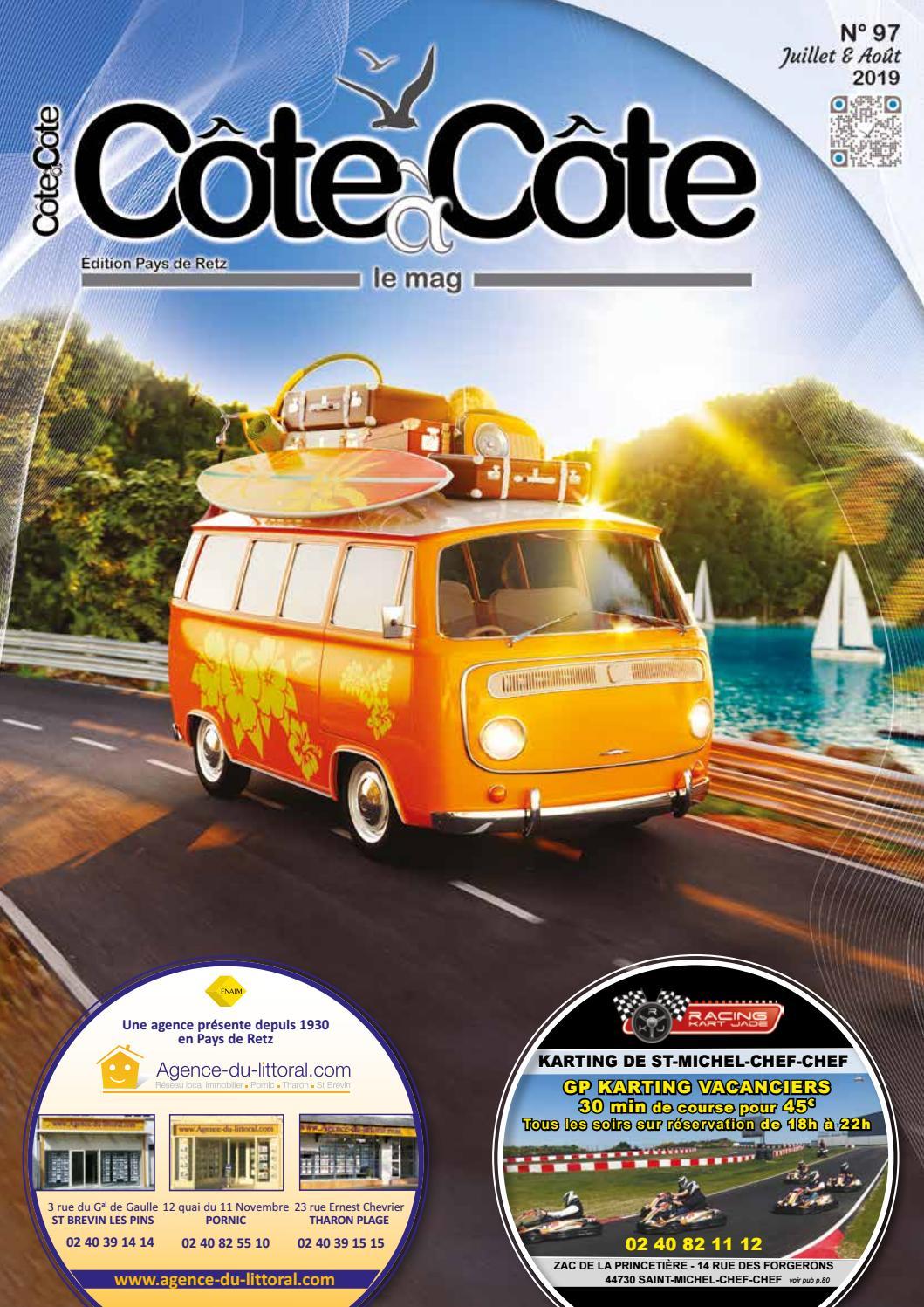 Côte à Côte Le Mag Numéro Dété édition Pays De Retz N