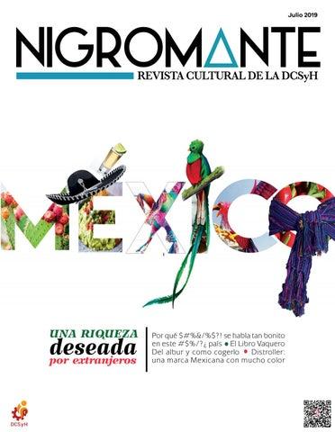 5051cb2f67d5 Nigromante Julio 2019 by Nigromante. Revista de la DCSyH, Facultad ...