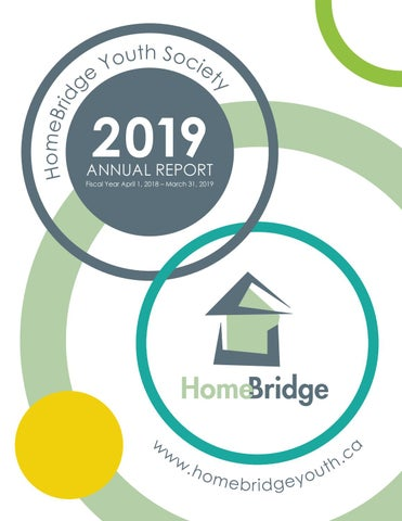 HomeBridge Youth Society 2019 Annual Report by Renee Stevens