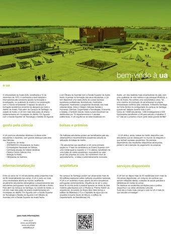 Mapa Do Campus Da Universidade De Aveiro 2019 By Universidade De