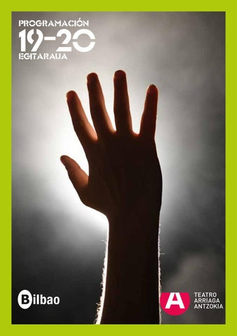 Calendario Escolar 2020 2020 Barcelona.Programacion Teatro Arriaga Antzokia 2019 2020 By Jose Ignacio