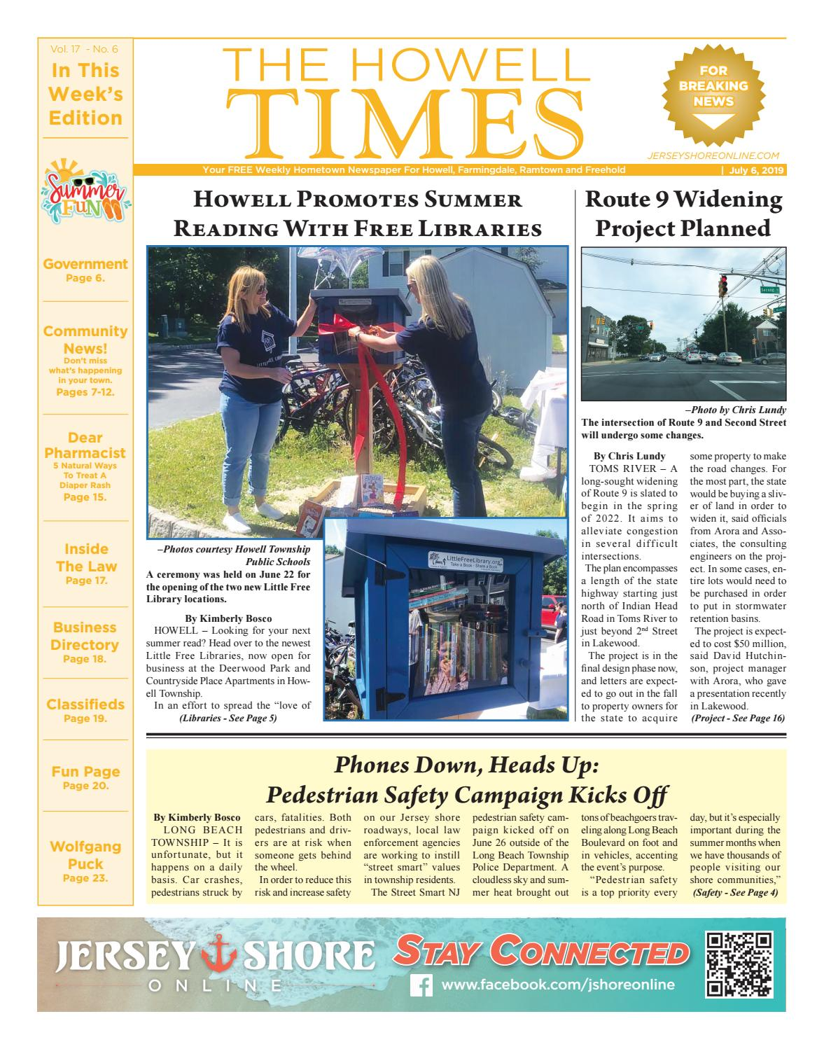 2019-07-06 - The Howell Times by Micromedia Publications/Jersey Shore  Online - issuu