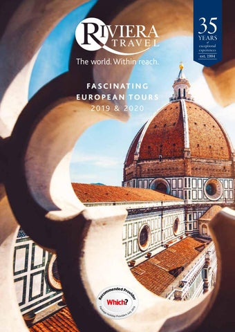 Fascinating European Tours 2019 & 2020 by Riviera Travel - issuu