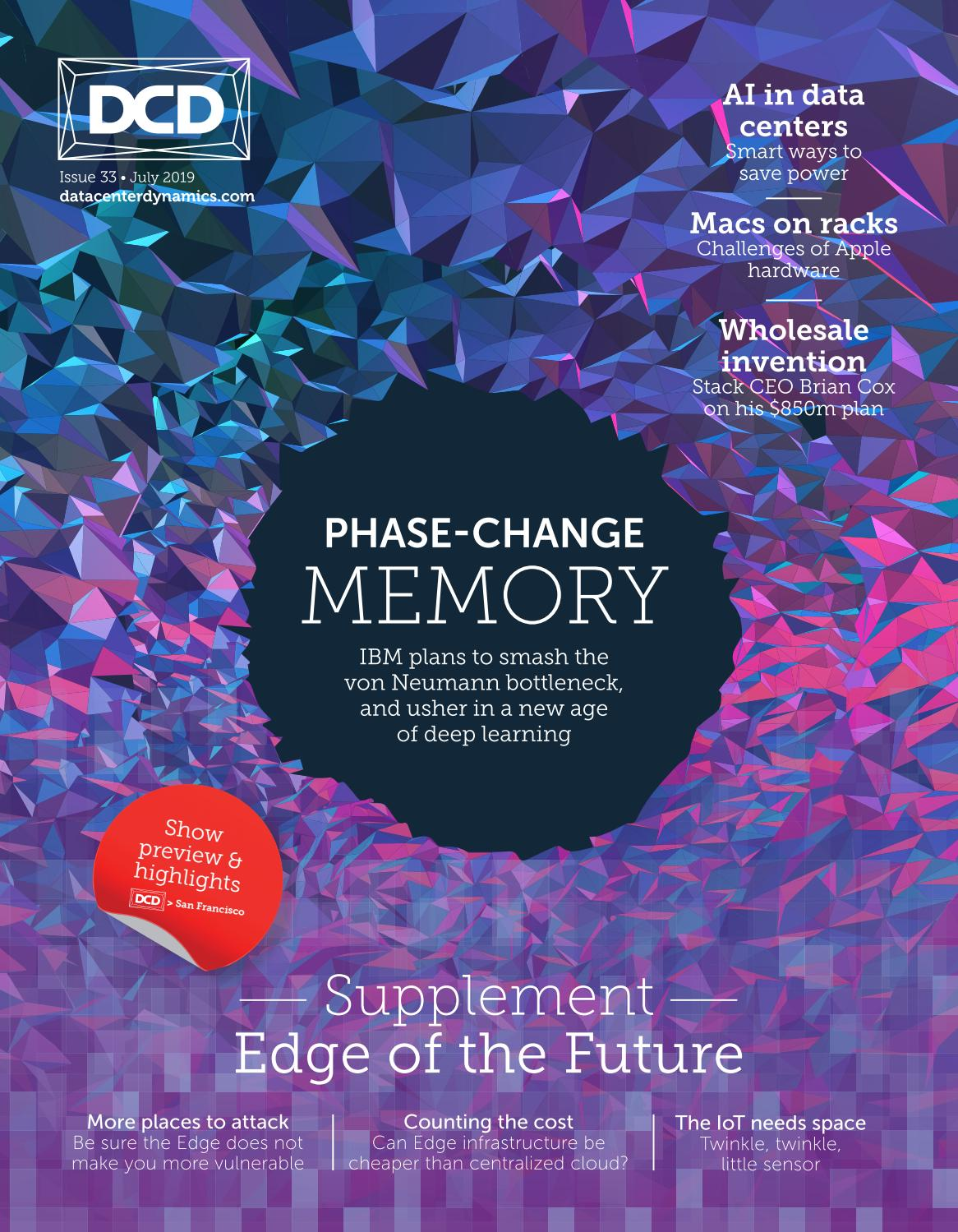 DCD>Magazine Issue 33 - Phase-Change Memory by DCD Magazine