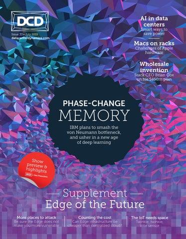 DCD>Magazine Issue 33 - Phase-Change Memory by DCD Magazine
