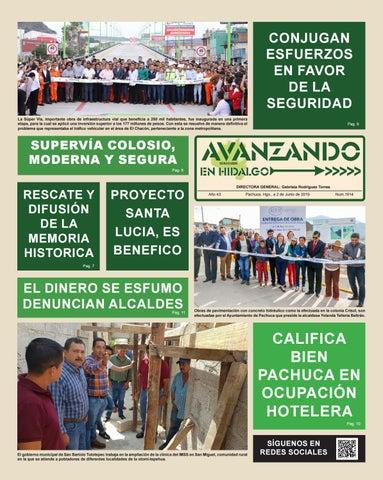 Semanario Avanzando En Hidalgo Edición 1914 By Periódico