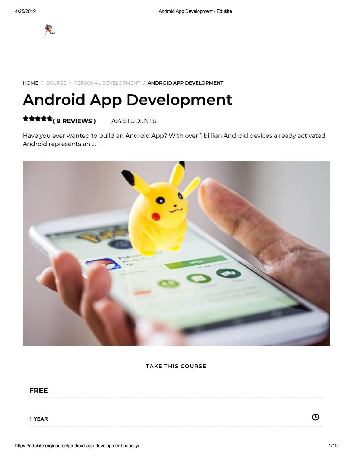 Android App Development - Edukite by EduKite - issuu