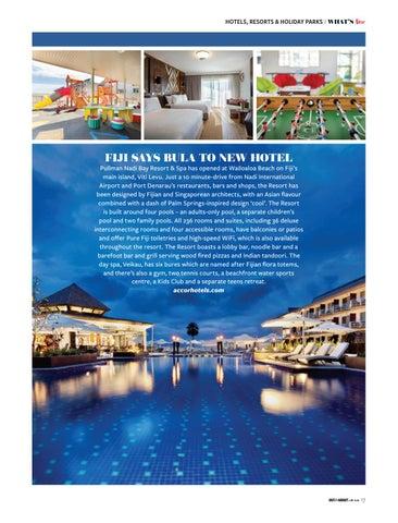 Page 17 of FIJI SAYS 'BULA' TO NEW HOTEL in Nadi Bay