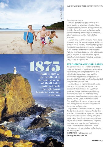 Page 37 of BARRINGTON COAST BEAUTY When it comes to good looks, this region has it in spades
