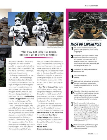 Page 69 of Star Wars: Galaxy's Edge now open
