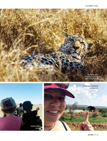 Page 99 of Urzila Carlson shares why she loves South Africa