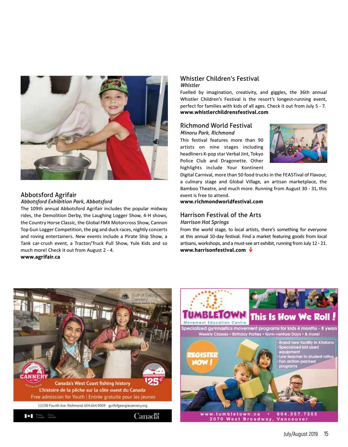 Westcoast Families July August 2019 Issue By Westcoast Families Magazine Issuu