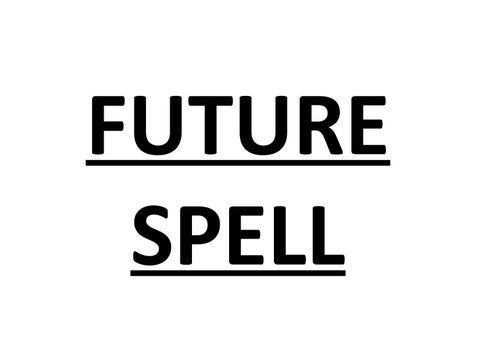 FUTURE SPELL by vtotke - issuu