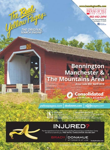 Bennington 2018-2019 White Pages by Moore County Telephone
