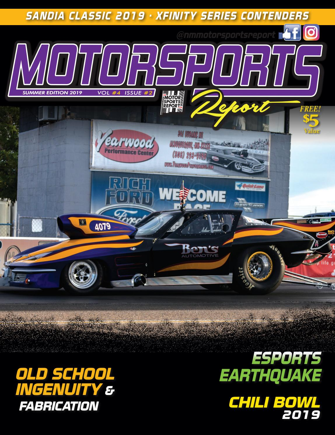 NM Motorsports Report Summer 2019 by DL Graphic Design - issuu