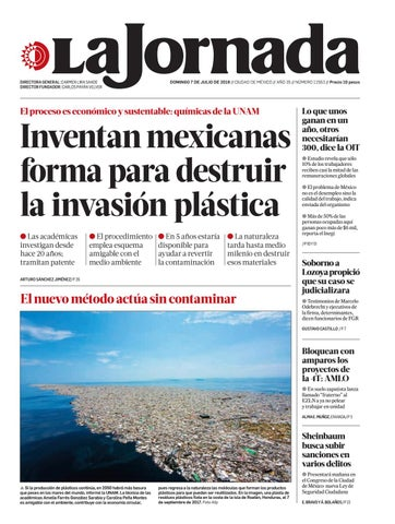 La Jornada 07 07 2019 By La Jornada Issuu