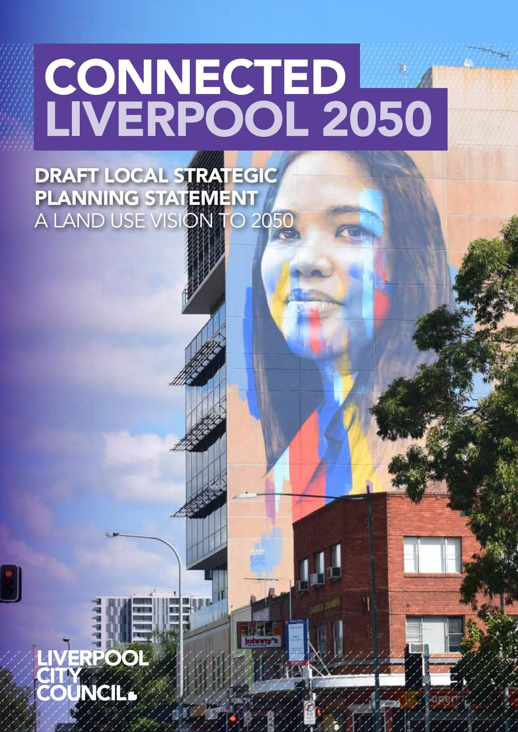 Draft Local Strategic Planning Statement By Liverpool City Council Issuu