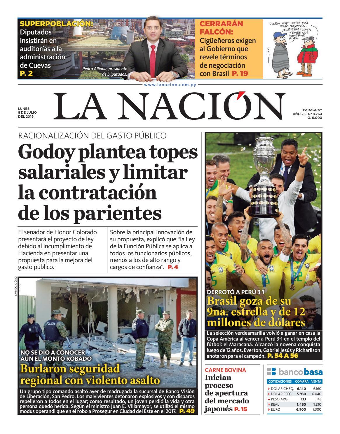 d4962dbab DIARIO LA NACIÓN - EDICIÓN 8.764 by La Nación - issuu