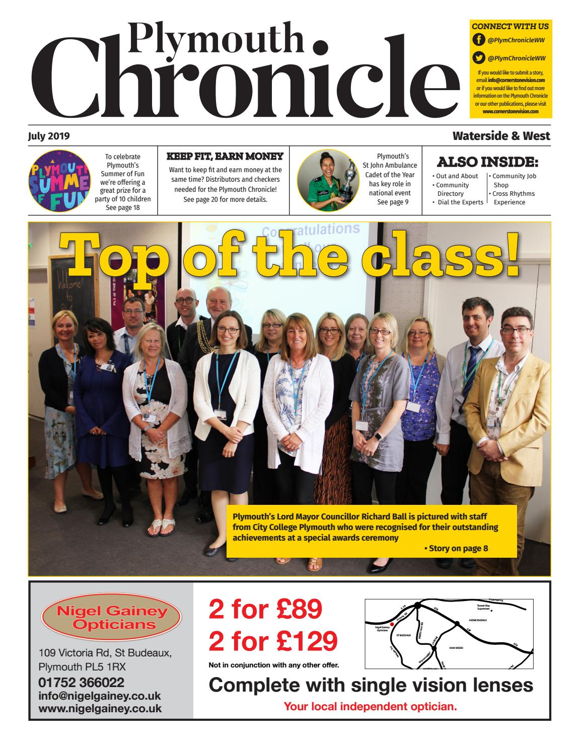 The Plymouth Chronicle Waterside & West July 2019 by