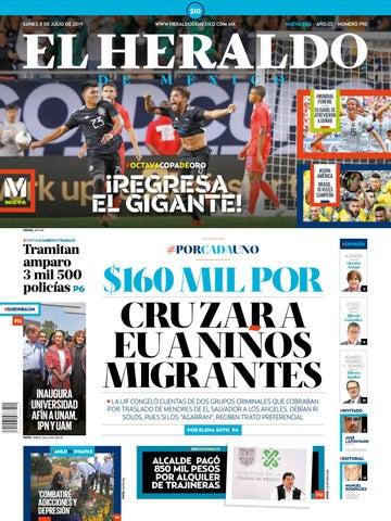 Lunes 08 De Julio De 2019 By El Heraldo De México Issuu