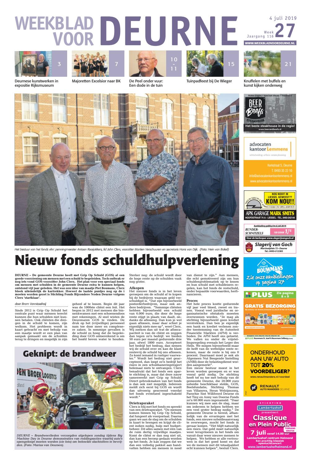 3aafdbbe961 Weekblad voor Deurne 04-07-2019