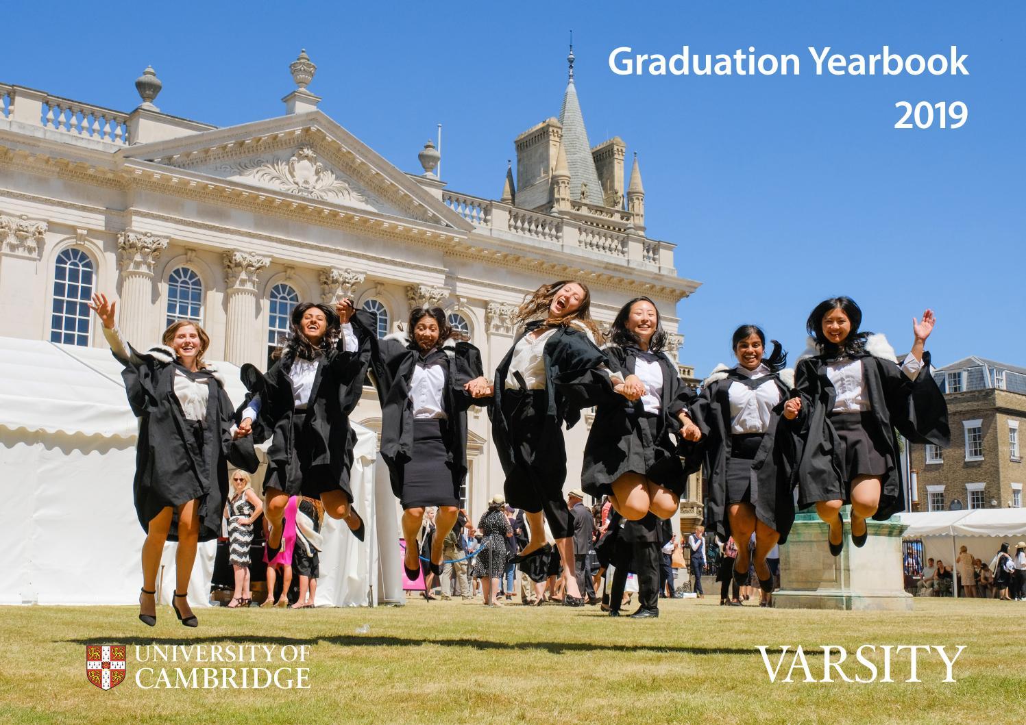 University of Cambridge Graduation Yearbook 2019 by