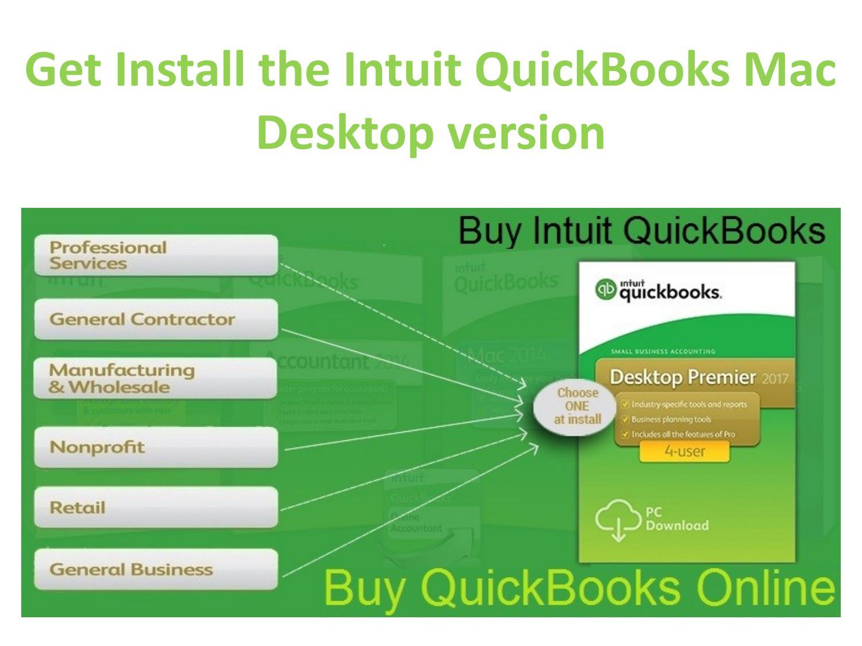 Get Install The Intuit QuickBooks Mac Desktop Version by Vernika
