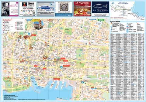 Cartina Della Sicilia Turistica.Palermo Mappa Turistica 2019 By Lime Edizioni Milano Issuu