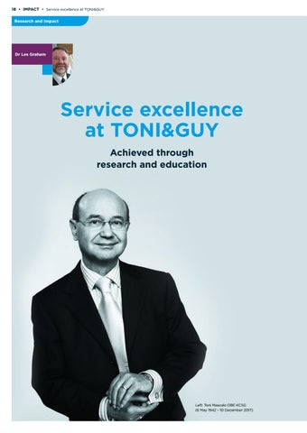 Page 18 of Service excellence at TONI&GUY