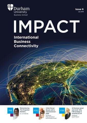 IMPACT magazine - Issue 6 by Durham University Business School - issuu