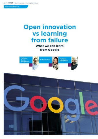 Page 24 of Open innovation vs learning from failure