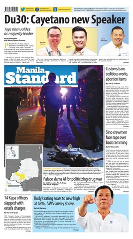 Manila Standard - 2019 July 9 - Tuesday by Manila Standard - issuu