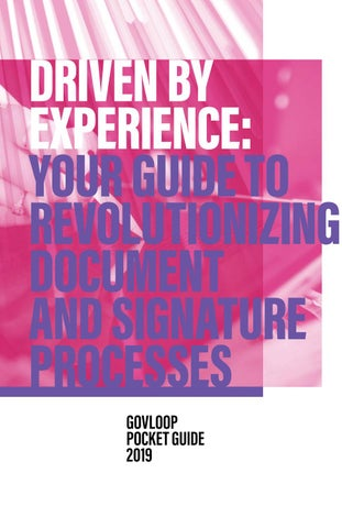 Driven by Experience: Your Guide to Revolutionizing Document and