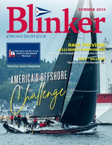 Blinker Summer 2019 by Chicago Yacht Club - issuu