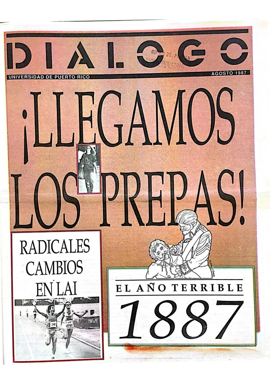 Diálogo Ago 1987 By La Colección Puertorriqueña Issuu