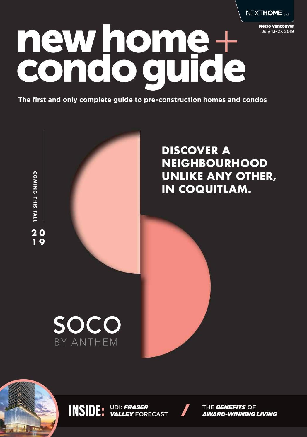 Vancouver New Home Condo Guide July 13 2019 By Nexthome